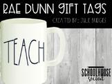 Rae Dunn Gift Tags