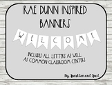 Rae Dunn Inspired Banner Set