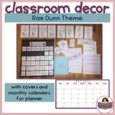 Rae Dunn Inspired Classroom Decor