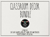 Rae Dunn Inspired Classroom Decor Bundle