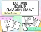 Rae Dunn Inspired Classroom Library Labels