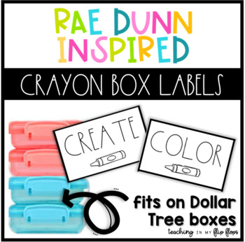 Rae Dunn Inspired Dollar Tree Labels FREEBIE