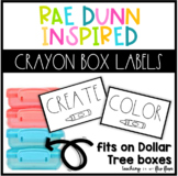 Rae Dunn Inspired Dollar Tree Labels FREEBIE