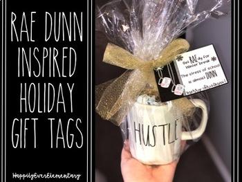 Rae Dunn Inspired Gift Tags