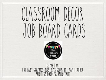 Rae Dunn Inspired Job Board Cards