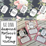 Rae Dunn Inspired Mother's Day Craft and Writing