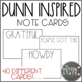 Rae Dunn Inspired Note Cards
