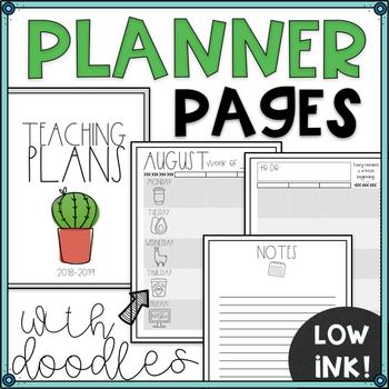 Rae Dunn Inspired Planner