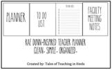 Rae Dunn-Inspired Teacher Planner
