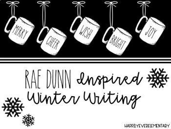 Rae Dunn Inspired Winter Writing