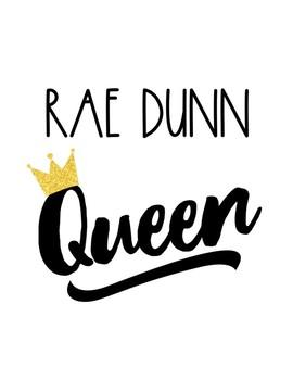 Rae Dunn Queen Little Bird Kindergarten Printshop