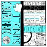 Rae Dunn Themed Mini Bundle: Clock Labels & Birthday Decor