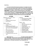 Raffle Ticket Classroom Management Parent Letter
