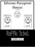 Raffle Ticket Reward - Owl Theme