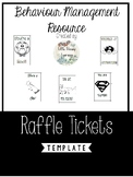 Raffle Ticket Reward Templates:  Growing BUNDLE