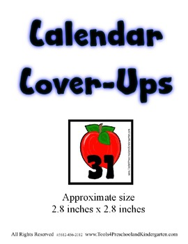Ragedy Farm Calendar Cover-Ups Memory Game pieces - Doll Themed - Preschool