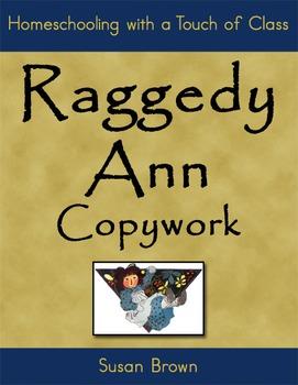 Raggedy Ann Copywork