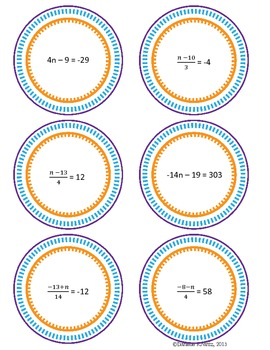 Solving Two Step Equations Game