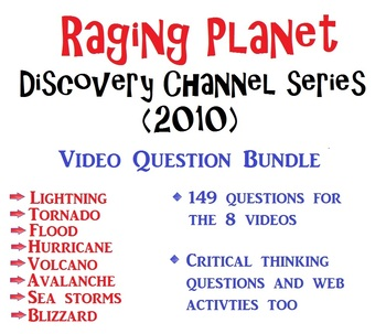 Raging Planet - Discovery Channel - 8 video series