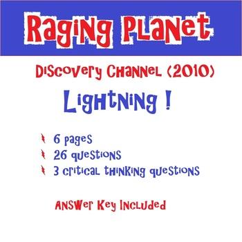 Raging Planet Lightning
