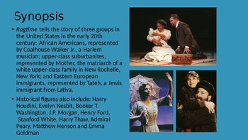 Ragtime the Musical PowerPoint