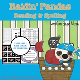 Raidin' Panda: Reading and Spelling with Open Syllables