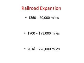 Railroad Expansion Presentation