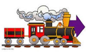 Railroad Festival Percents, Decimals and Fractions