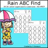 Rain ABC Letter Find