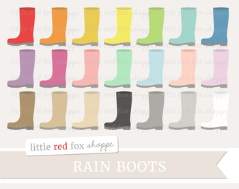 Rain Boot Clipart; Shoe, Gardening