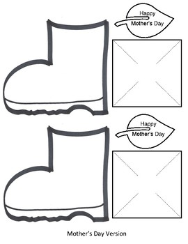 Rain Boot Craft