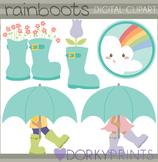 Rain Boots Clip Art