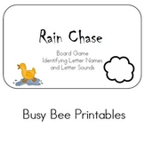 Rain Chase Board Game - Identifying Letter Names and Sounds