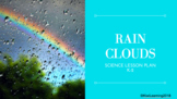 Rain Cloud Experiment Science Lesson Plan