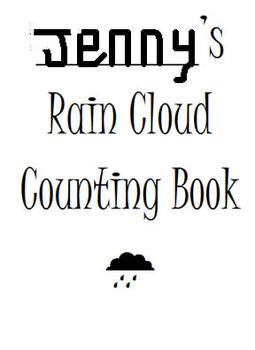 Rain Cloud Numeral Booklet