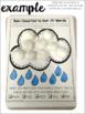 Rain Cloud {Speech & Language Dot Art}