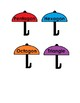 Rain Cloud & Umbrella Shape Matching for Preschool