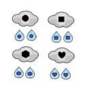 Rain Cloud & Umbrella Shape Matching for Preschool