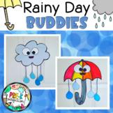 Rain Cloud and Umbrella Craft