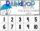 Rain Drop 10 Frame Counting Interactive Book