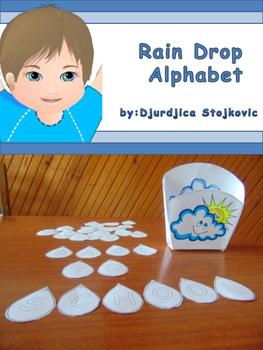Rain Drop Alphabet