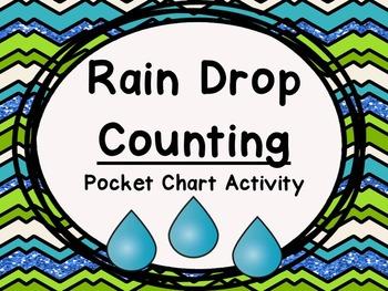 Rain Drop Counting Activity