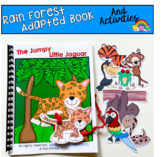 """Rain Forest Adapted Books And Activities:  """"The Jumpy Litt"""