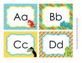 Rain Forest Animals Word Wall Headers