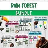 Rain Forest Classroom Decor Bundle
