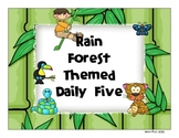 Rain Forest Daily 5 Posters