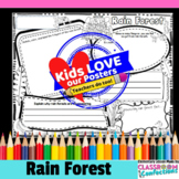 Rain Forest Activity Poster