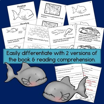 Rainforest Readers: Piranhas Guided Reading Book