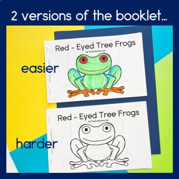 Rainforest Readers: Red-Eyed Tree Frogs Guided Reading Book
