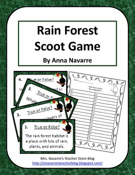 Rain Forest Scoot Game